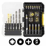 Stanley STA88554-XJ FATMAX® fémfúrószár és bit készlet, 19 részes