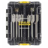 Stanley STA88556-XJ FATMAX® lapos fafúrószár készlet, 8 részes