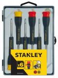 Stanley STHT0-62631 precíziós csavarhúzó készlet, 6 részes
