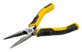 Stanley STHT0-74363 DynaGrip félkerekcsőrű fogó, egyenes kivitel, 150 mm