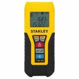 Stanley TLM99S lézeres távolságmérő 30 m hatótávolsággal, Bluetooth kapcsolattal