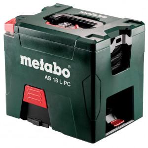 METABO AS 18 L PC akkus porszívó (2 x 5.2 Ah Li-ion akkuval, kartonban) termék fő termékképe