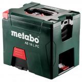 METABO AS 18 L PC akkus porszívó (akku és töltő nélkül, kartonban)