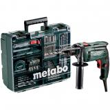 METABO SBE 650 SET ütvefúró (műanyag hordtáskában) + mobil műhely
