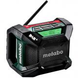 METABO R 12-18 DAB+ BT akkus építkezési rádió (akku és töltő nélkül, kartonban)