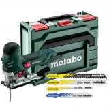 METABO STE 140 Plus SET szúrófűrész (metaBOX kofferben) + 20 db szúrófűrészlap