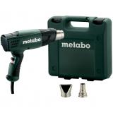 METABO H 16-500 SET hőlégfúvó (műanyag hordtáskában)
