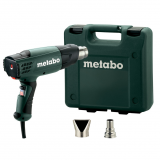 METABO HE 20-600 SET hőlégfúvó (műanyag hordtáskában)