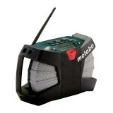 METABO POWERMAXX RC akkus építkezési rádió (akku és töltő nélkül, kartonban)