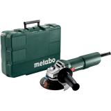 METABO W 750-125 sarokcsiszoló (műanyag hordtáskában)