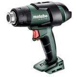 METABO HG 18 LTX 500 akkumulátoros hőlégfúvó (akku és töltő nélkül, MetaBox tárolóegységgel)
