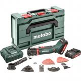 METABO MT 18 LTX akkus multiszerszám (2 x 2.0 Ah Li-Power akkuval, metaBOX kofferben) + tartozékok