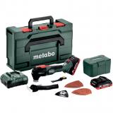 METABO MT 18 LTX BL QSL szénkefe nélküli akkumulátoros multiszerszám (2 x 4.0 Ah LiHD akkuval, metaBOX kofferben)