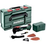 METABO MT 18 LTX BL QSL szénkefe nélküli akkumulátoros multiszerszám (akku és töltő nélkül, metaBOX kofferben)