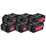 METABO 18 V 5.2 Ah Li-Power akkumulátor, 6db/csomag