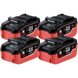 METABO 18 V 5.5 Ah LiHD akkumulátor, 4db/csomag