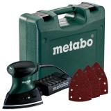 METABO FMS 200 INTEC SET multicsiszoló (műanyag hordtáskában) + 50 db csiszolólap