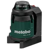 METABO MLL 3-20 multivonalas lézer (MetaLoc kofferben)