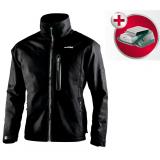 METABO HJA 14.4-18 fűthető kabát, M (akku és töltő nélkül, kartonban) + Power adapter akkuhoz