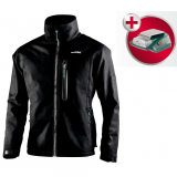 METABO HJA 14.4-18 fűthető kabát, XL (akku és töltő nélkül, kartonban) + Power adapter akkuhoz