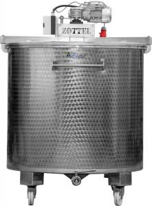 ZOTTEL Keverőlapátos tartály hűtőpalásttal 2000l termék fő termékképe