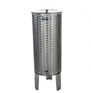 Úszófedeles INOX bortartály, 150 l termék fő termékképe