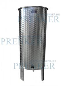 Úszófedeles INOX bortartály, 180 l termék fő termékképe