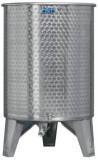 Úszófedeles INOX bortartály, 500 l - 1 csapos