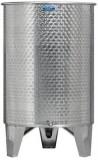Úszófedeles INOX bortartály, 600 l - 1 csapos