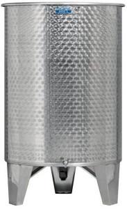 Úszófedeles INOX bortartály, 600 l - 1 csapos termék fő termékképe
