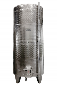 ZOTTEL Erjesztő tartály 2600l dupla hűtőköpennyel termék fő termékképe