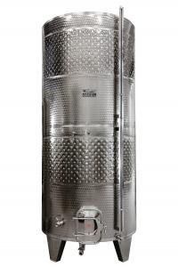 ZOTTEL Erjesztő tartály 1500l dupla hűtőköpennyel termék fő termékképe