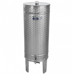 INOX pálinkás tartály, 150 l - álló termék fő termékképe
