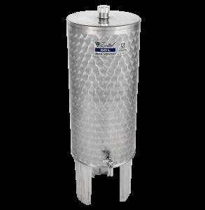 INOX pálinkás tartály, 12 l - álló termék fő termékképe