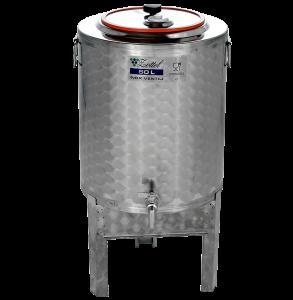 ZOTTEL Pálinkás tartály levehető lábas 100l inox termék fő termékképe