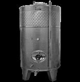 Zárt INOX bortartály, 3300 l hűtőpalásttal