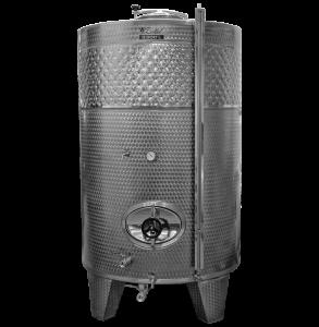 Zárt INOX bortartály, 3300 l hűtőpalásttal termék fő termékképe