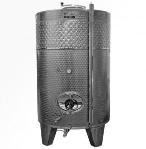 Zárt INOX bortartály, 5150 l hűtőpalásttal termék fő termékképe