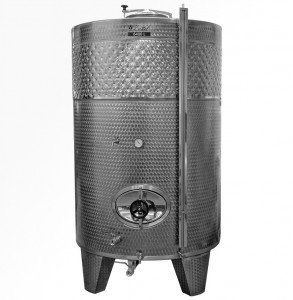 Zárt INOX bortartály, 6400 l hűtőpalásttal termék fő termékképe