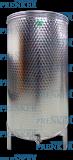 Maleric úszófedeles INOX bortartály 300 l - levehető lábas