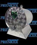 INOX pálinkás tartály, 10 l - fekvő