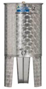 Úszófedeles INOX bortartály, 30 l termék fő termékképe