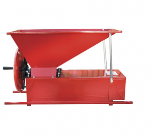 ENO 3 - szőlő daráló, zúzó és bogyózó - festett kivitel, kézi termék fő termékképe