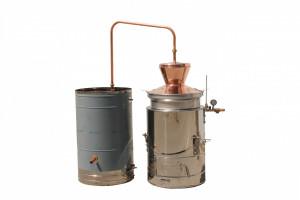 Pálinkafőző, 100L - vízhűtéses, dupla falú termék fő termékképe