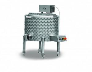 Lekvárfőző - forraló üst keverőlapáttal - 130 l termék fő termékképe