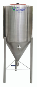 ZOTTEL Sör erjesztő tartály INOX 300 literes termék fő termékképe