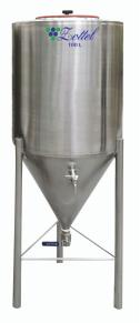 ZOTTEL Sör erjesztő tartály INOX 250 literes termék fő termékképe