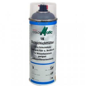 Motip COLORMATIC vastag filler alapozó spray, fekete, 400 ml termék fő termékképe