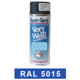 Motip Very Well Akril festék spray, RAL5015, 400 ml