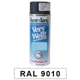 Motip Very Well Akril festék spray, RAL9010, 400 ml